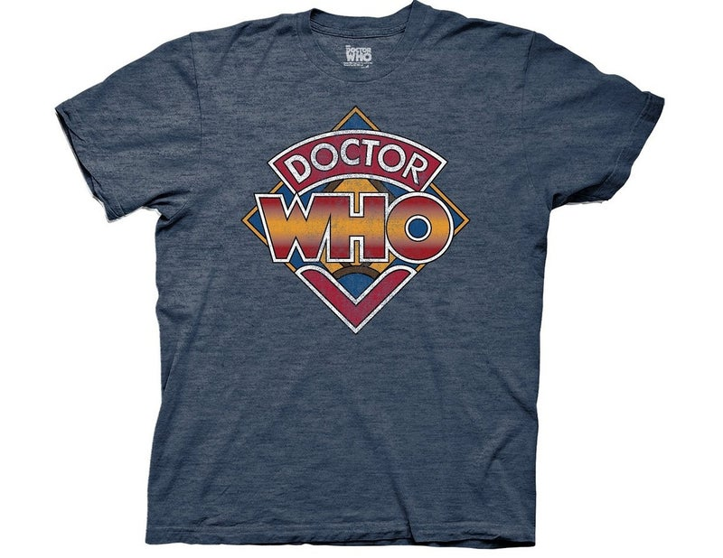 Doctor Who Classic Vintage Logo T-Shirt
