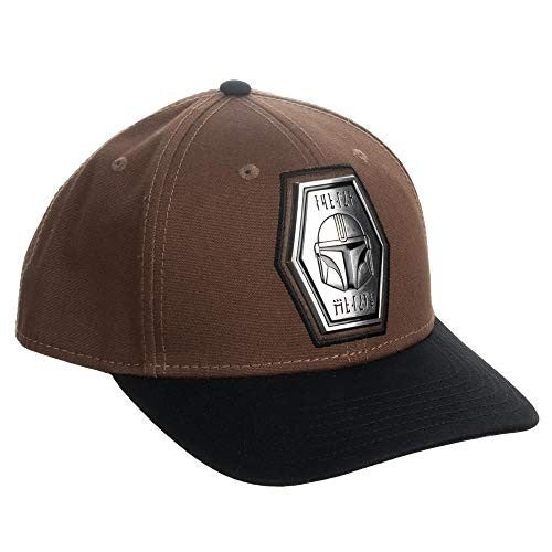 Star Wars Mandalorian The Child Pre-Curved Snapback Hat