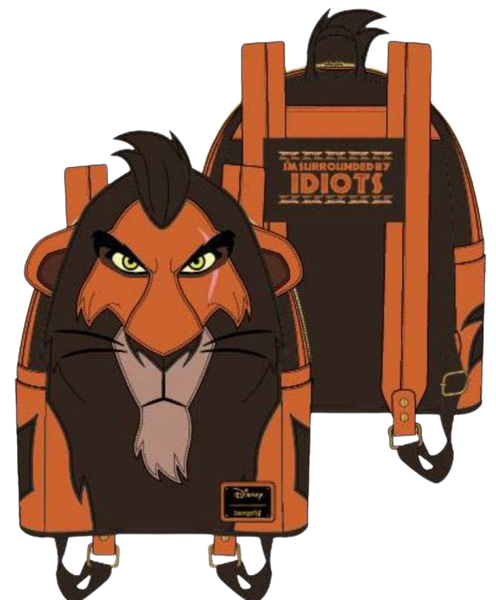 Scar Mini Backpack The Lion King Loungefly - PRE-Order late February