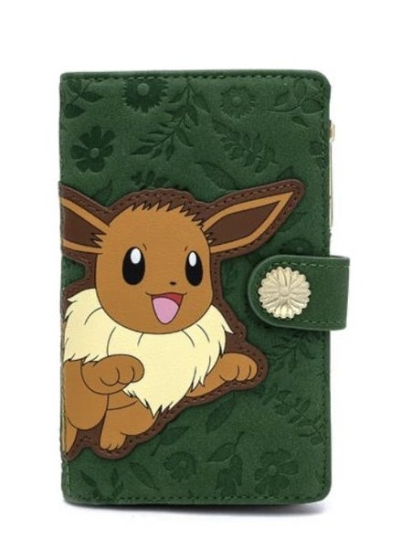 Pokemon Eevee Flying Flap Wallet LOUNGEFLY