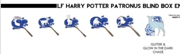 Harry Potter Patronus Blind Box Pins Loungefly Pre-order