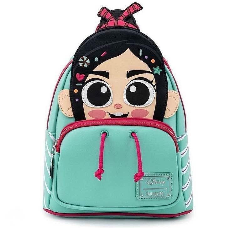 Wreck It Ralph Vanellope Cosplay Mini Backpack  Loungefly