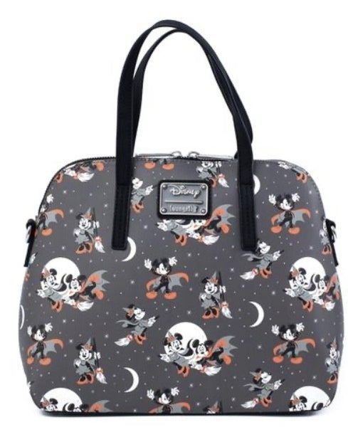 Mickey Halloween AOP Crossbody LOUNGEFLY