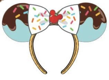 Minnie Mouse Sweet Treats Icecream Ears Loungefly - PRE-Order