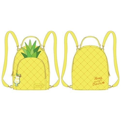 Pool Party Pineapple Mini-Backpack  Loungefly PRE-ORDER