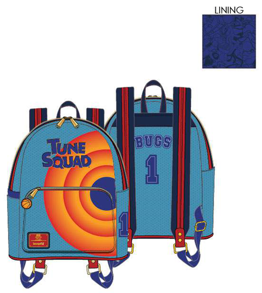 PREORDER Loungefly Space Jam tune squad bugs mini backpack Expected late June