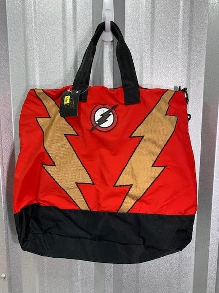 DC comics Flash totebag damaged see picture
