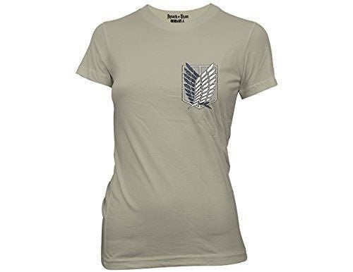 Attack on Titan juniors survery corp t-shirt