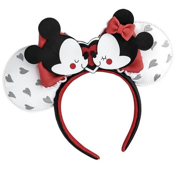 Mickey & Minnie Mouse Love Ears / Headband Disney Loungefly