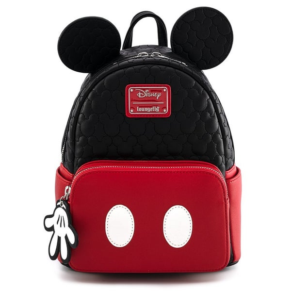 Loungefly Mickey Mouse Quilted Oh Boy Mini Backpack