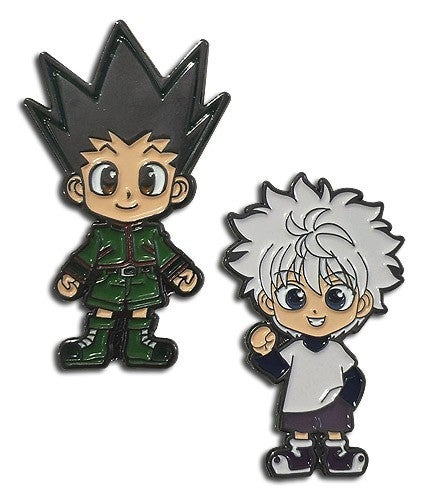 HUNTER X HUNTER - GON & KIRUA ENAMEL PIN SET