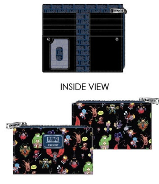 Marvel Chibi Group Wallet Loungefly