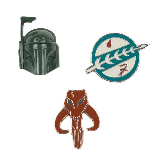 Star Wars Boba Fet Lapel pin Set