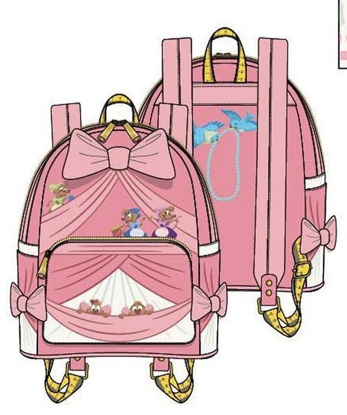 Cinderella Peek A Boo Mini BACKPACK & SET options Loungefly PRE-ORDER Nov/Dec