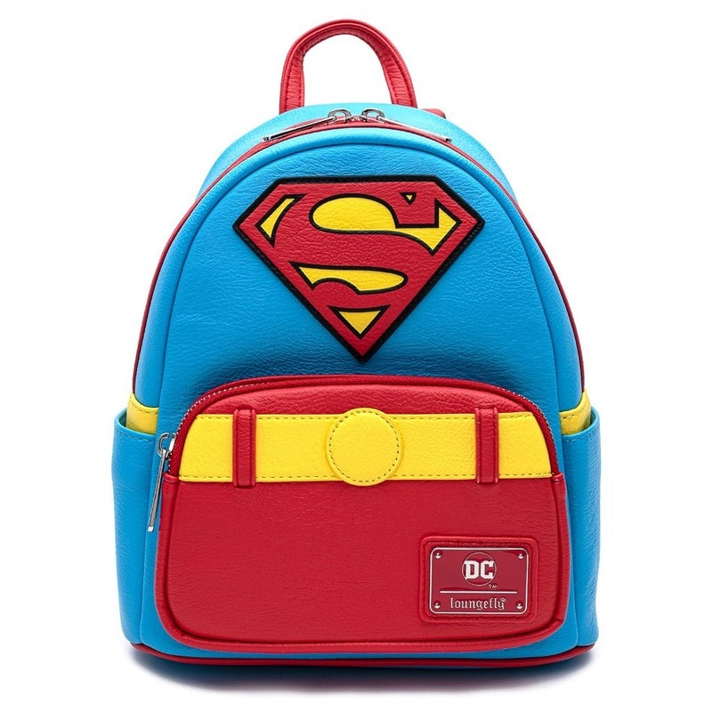 Superman Vintage Cosplay Mini-Backpack Loungefly