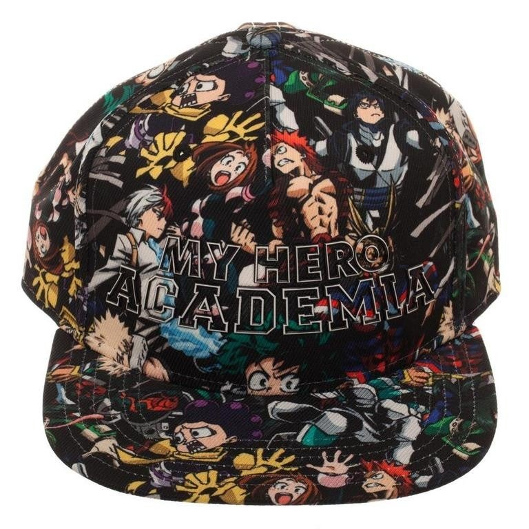 My Hero Academia High Density All Over Print Sublimated Snapback Hat