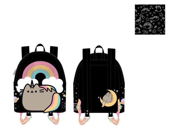 Pusheen Rainbow Unicorn Mini Backpack Loungefly PRE-ORDER expected late March
