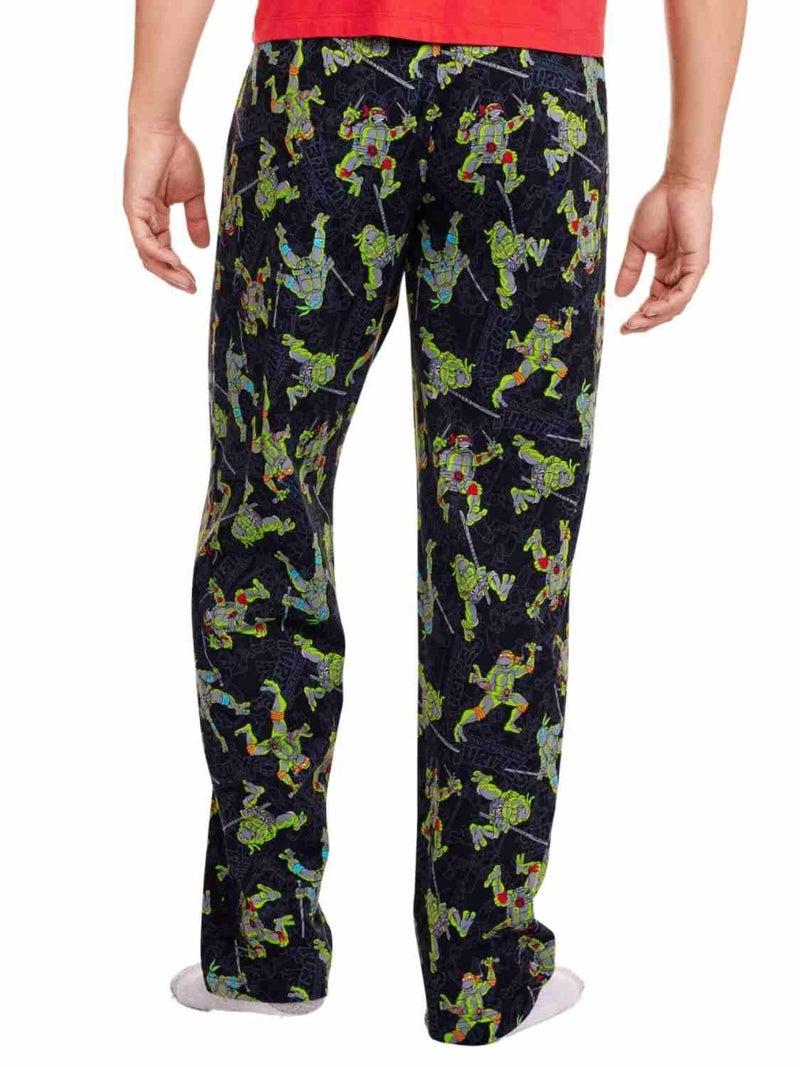 Teenage Mutant Ninja Turtles Mens Black Sleep Pants Men's medium