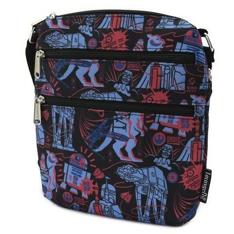 Star Wars Empire 40th Nylon Passport Bag Loungefly