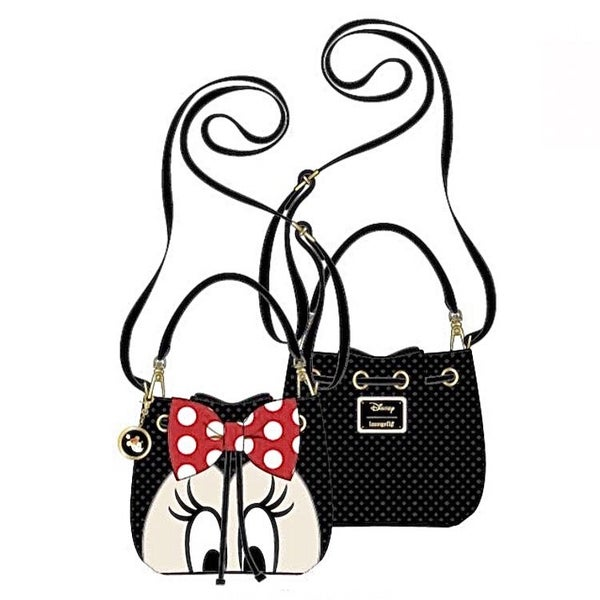 MINNIE Bow Bucket SET or CROSSBODY Options [PRE-ORDER - OCTOBER DELIVERY] LOUNGEFLY