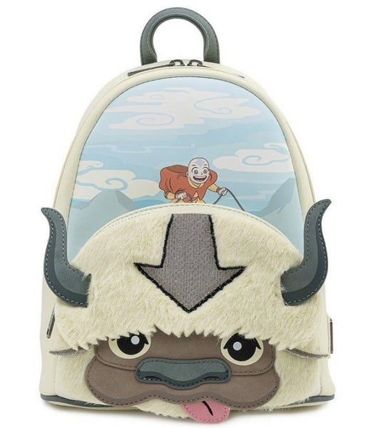 Avatar Aang Appa Cosplay Plush Mini Backpack Nickelodeon Loungefly PRE-ORDER