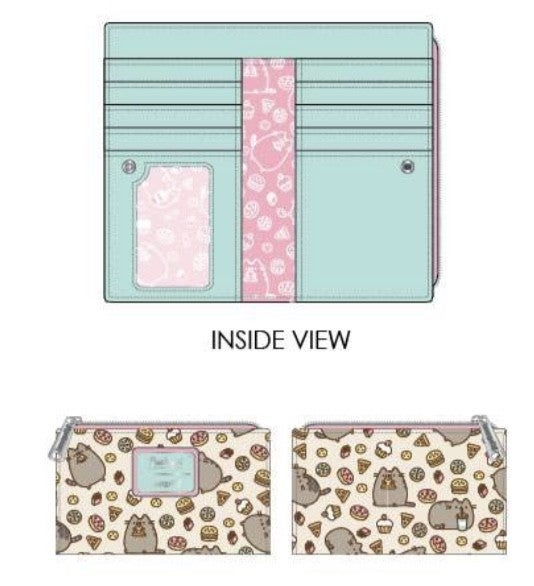 Pusheen Snackles Flap Wallet  [PRE-ORDER - SEPTEMBER DELIVERY] LOUNGEFLY