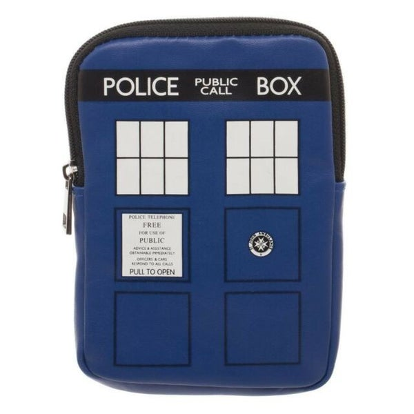 Doctor Who Zipper Coin Purse