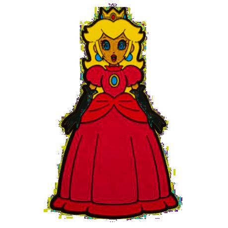 Super Mario Bros. Princess Peach 3-Inch Lapel Pin