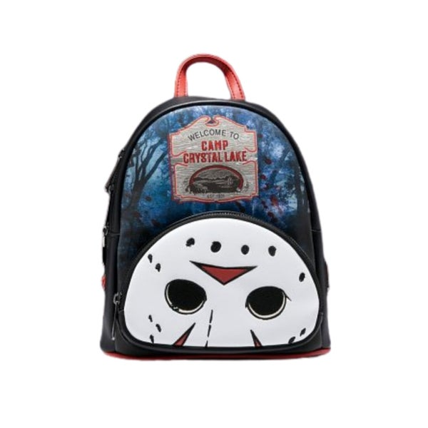FRIDAY the 13TH Jason Crystal Lake Mini Backpack or Wallet  LOUNGEFLY