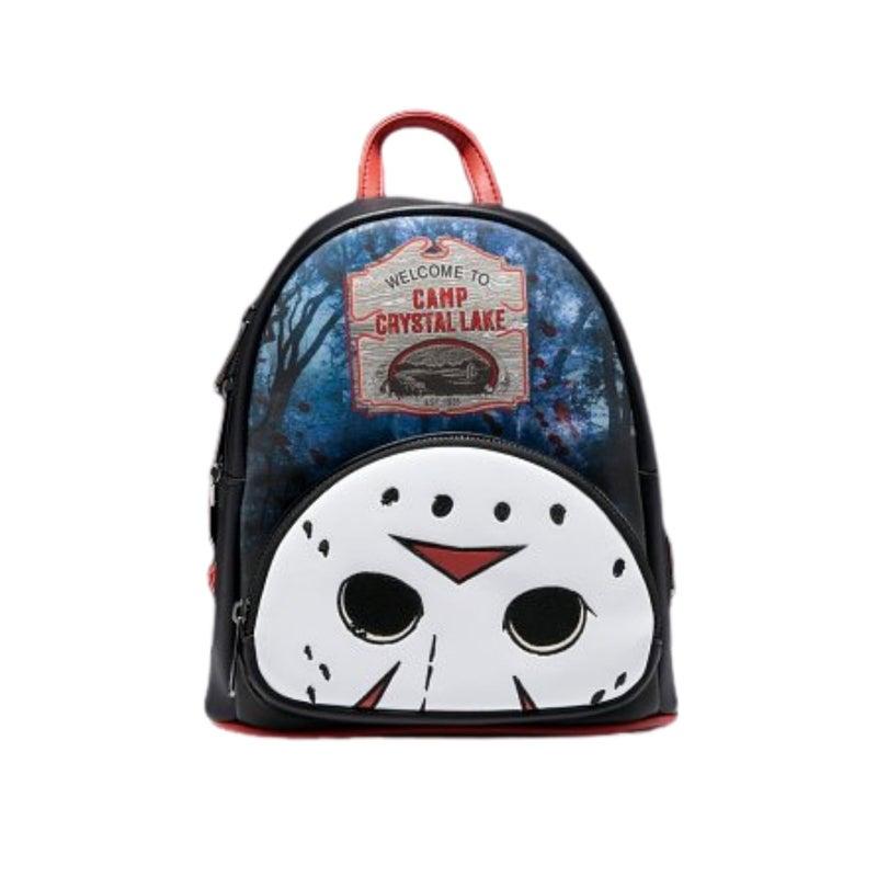 FRIDAY the 13TH Jason Crystal Lake Mini Backpack  LOUNGEFLY