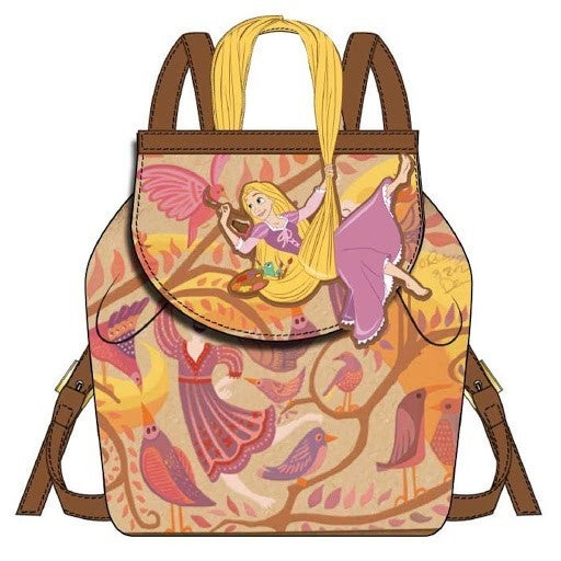 Rapunzel Painting Mini Backpack Disney Daniel Nicole