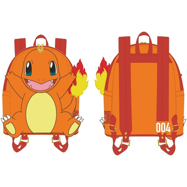 Pokemon Charmander Cosplay Mini-Backpack Loungefly PRE-ORDER