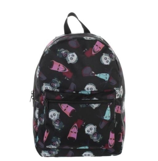 Nightmare Before Christmas Halloween All Over Print Tech Full sized Backpack