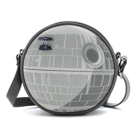 Star Wars The Empire Strikes Back 40th Anniversary Death Star Collector Bag with Pin Loungefly