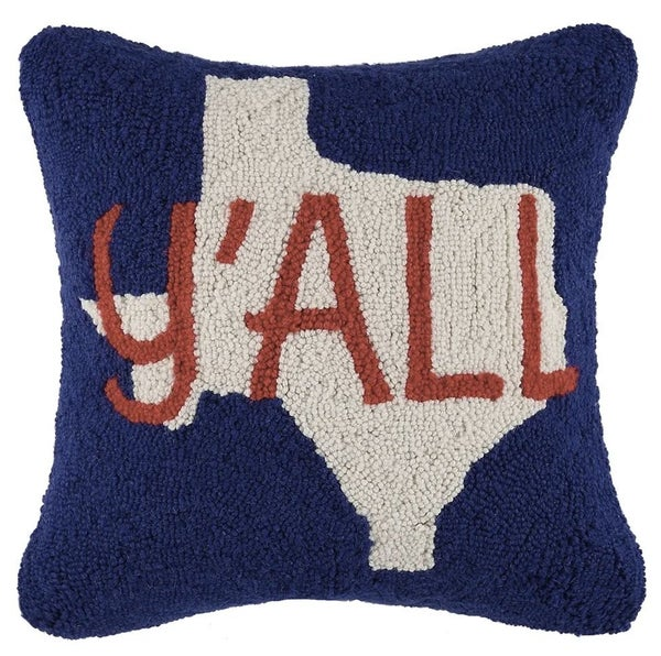 Y'all Hook Pillow
