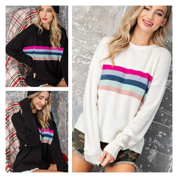 The Perfect Stripe Sweater