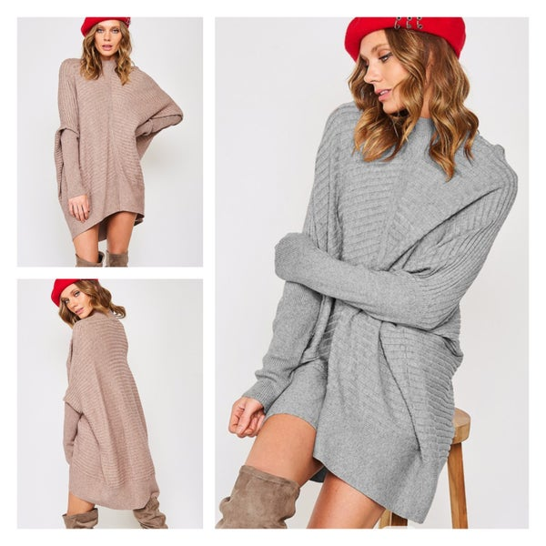 The Must Have Dolman Sleeve Tunic Sweater