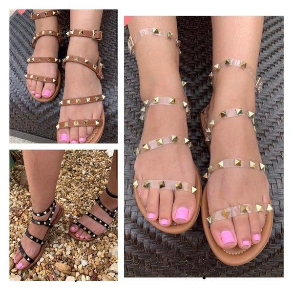 The Studded Sandal