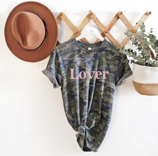 The Lover Camo Tee