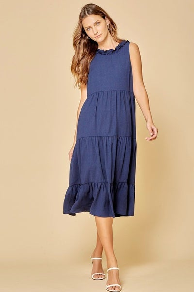 The Spring Midi Dress