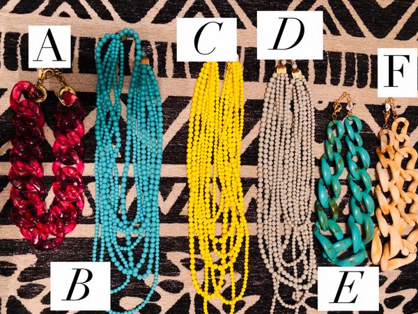 ACCESSORY BLOWOUT $12 Necklaces!