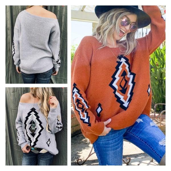 The Aztec Sweater