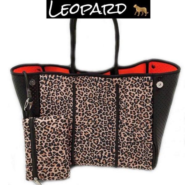 The Leopard Neoprene Tote