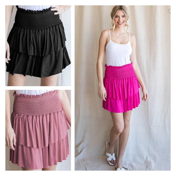 The Must Have Ruffle Skort