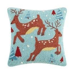 Reindeer Hook Pillow