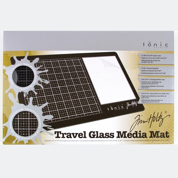 Tim Holtz Travel Glass Media Mat