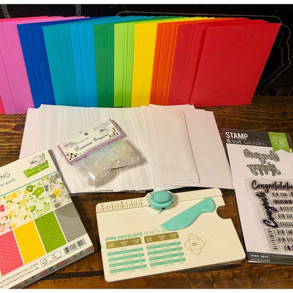 Happy Mail Bright Card Making Kit