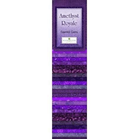Quilting Strip Packs- Essential Gems, Amethyst Royale