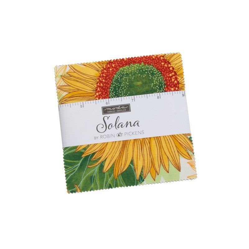 "Solana Charm Pack - 5""x5"" squares 42 count - Designer Robin Pickens for MODA Fabrics"