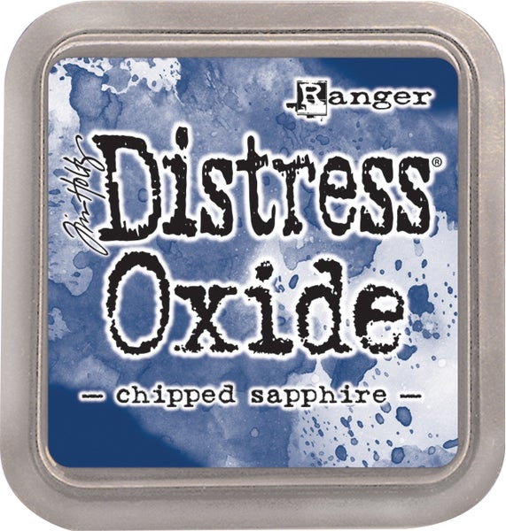 Tim Holtz Distress Oxide Ink Pad, Chipped Sapphire
